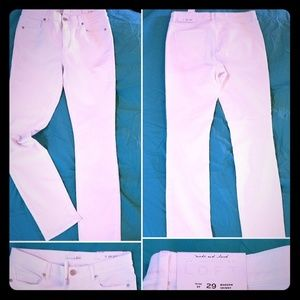 NWT LOFT white jeans- modern skinny 8T